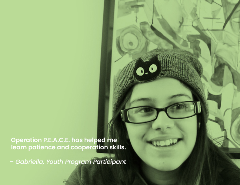 Image of Youth Participant, Gabriella